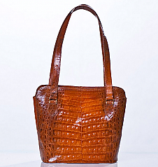 Angelo Cuore Alligator Small bag