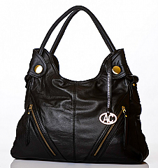 Angelo Cuore Royal Black Bag