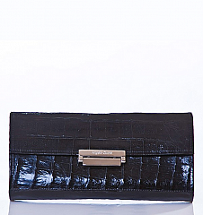 Angelo Cuore Alligator Clutch