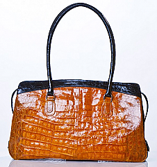 Angelo Cuore Alligator Classic Bag