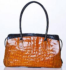 Angelo Cuore Alligator Classic Bag