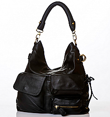 Angelo Cuore Pockets Shoulder Bag